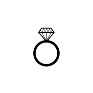 190x190 Wedding Ring Vector Related Images Of Engagement Ring Icon Stock