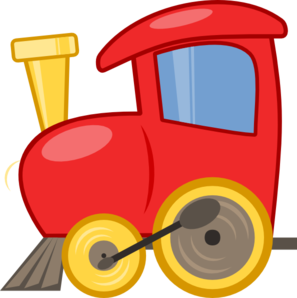 297x298 Loco Train Clip Art