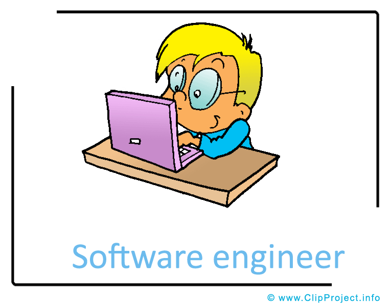 765x604 Software Engineer Clipart Image