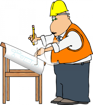 311x350 Royalty Free Engineer Clip Art, Occupations Clipart