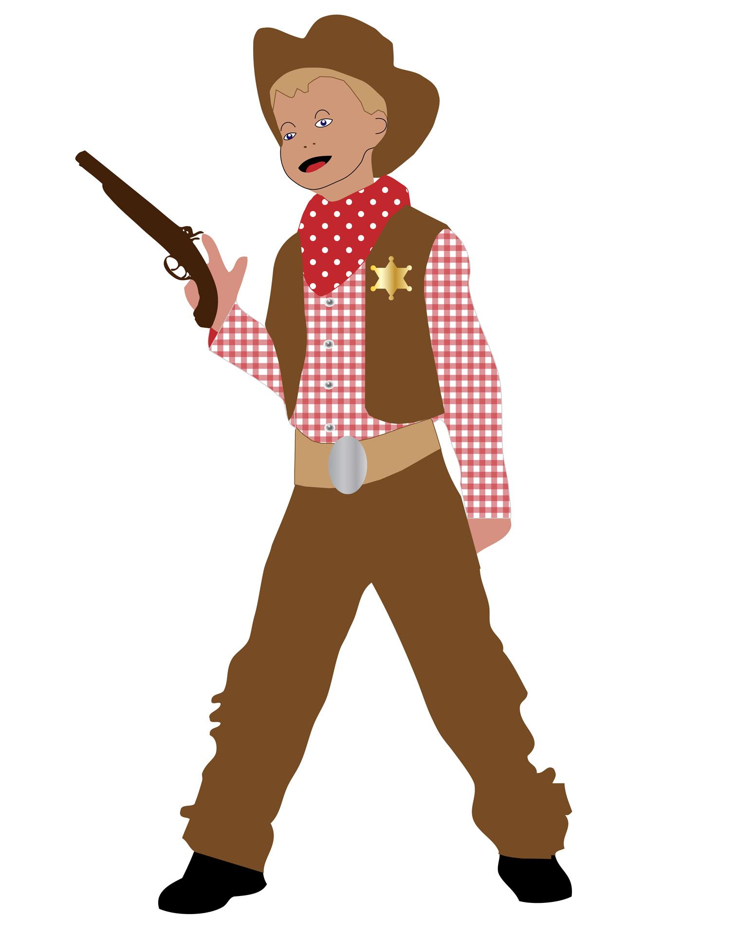 1514x1920 Cowboy Kid Clip Art Free Stock Photo