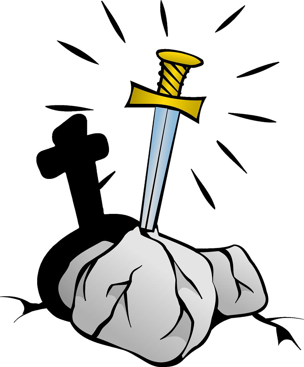 1063x1280 Excalibur Legend Sword England Transparent Image Sword