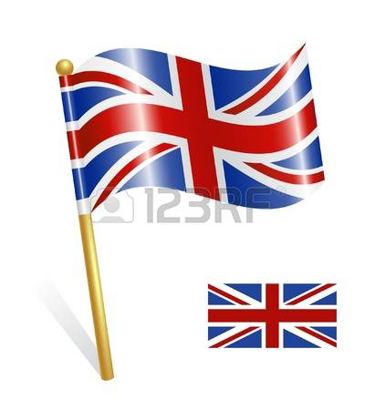 411x450 British Flag Clipart England Country