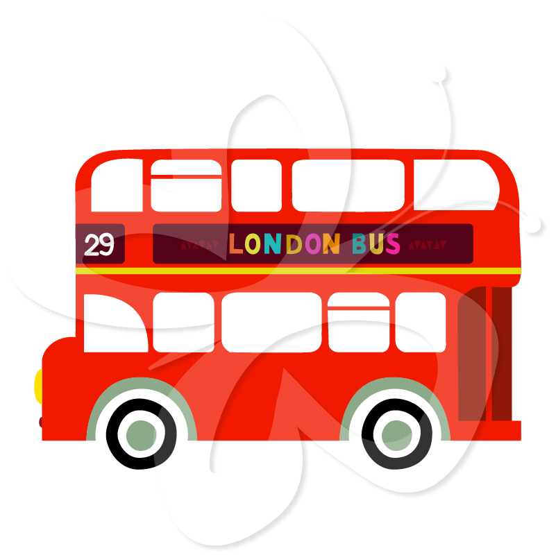 801x800 Bus Clipart England