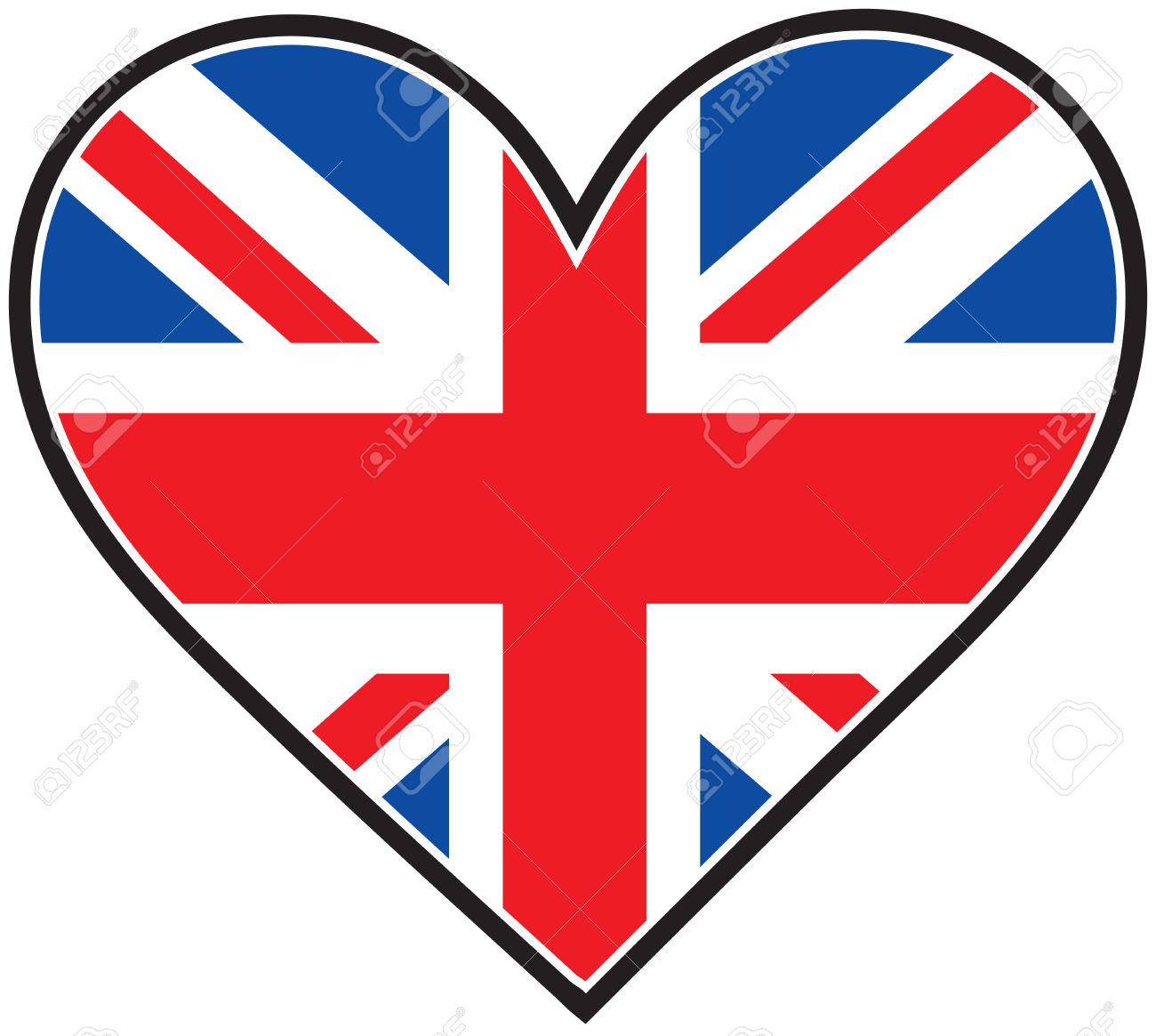 1300x1165 British Flag Clipart Enlish