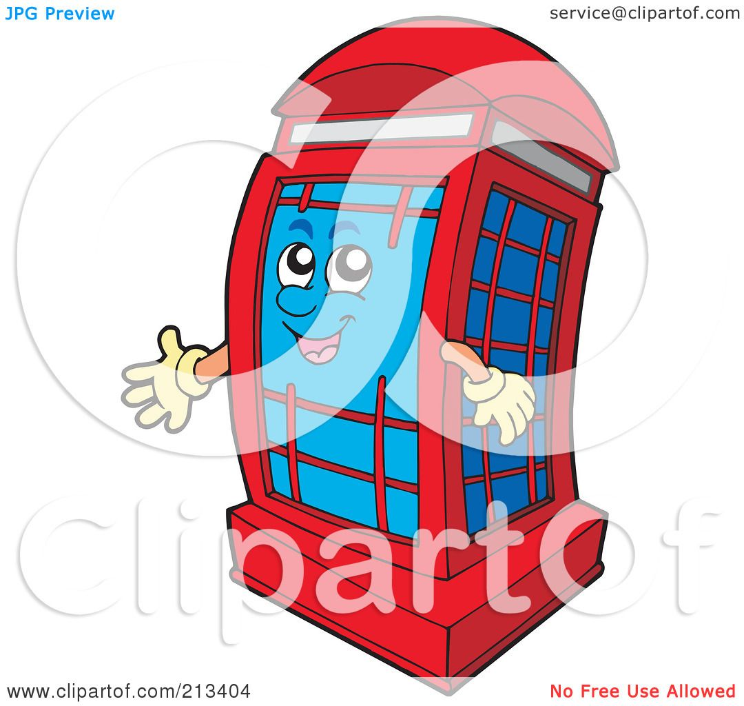 1080x1024 Phone Booth Clipart England