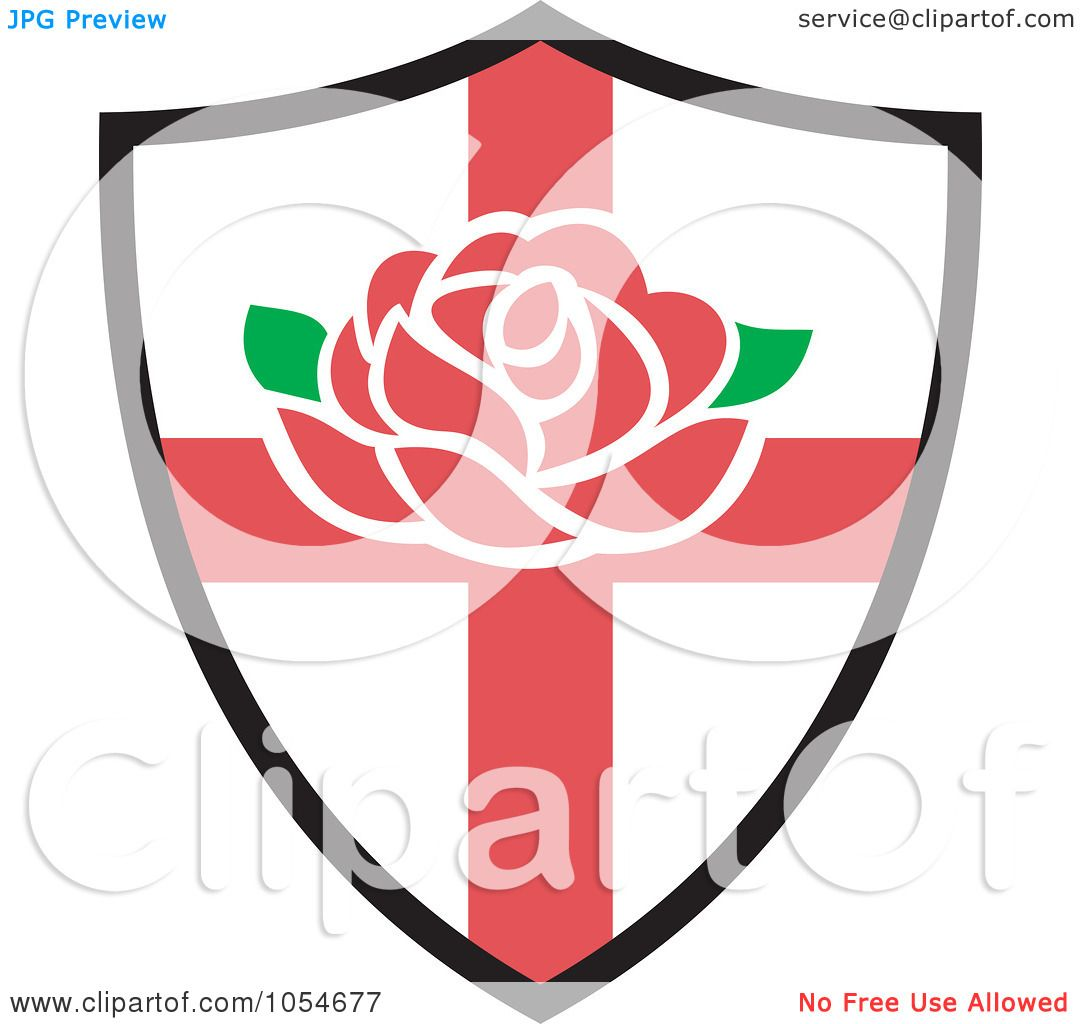 1080x1024 Royalty Free Vector Clip Art Illustration Of An England Rugby