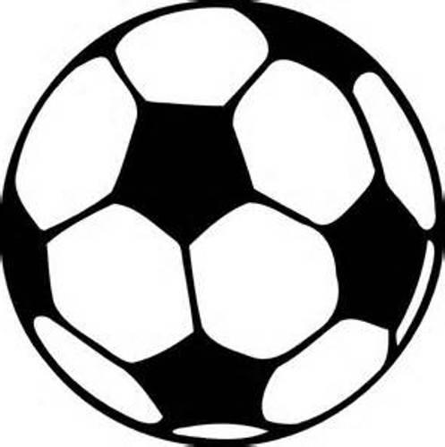 497x500 Football Clipart