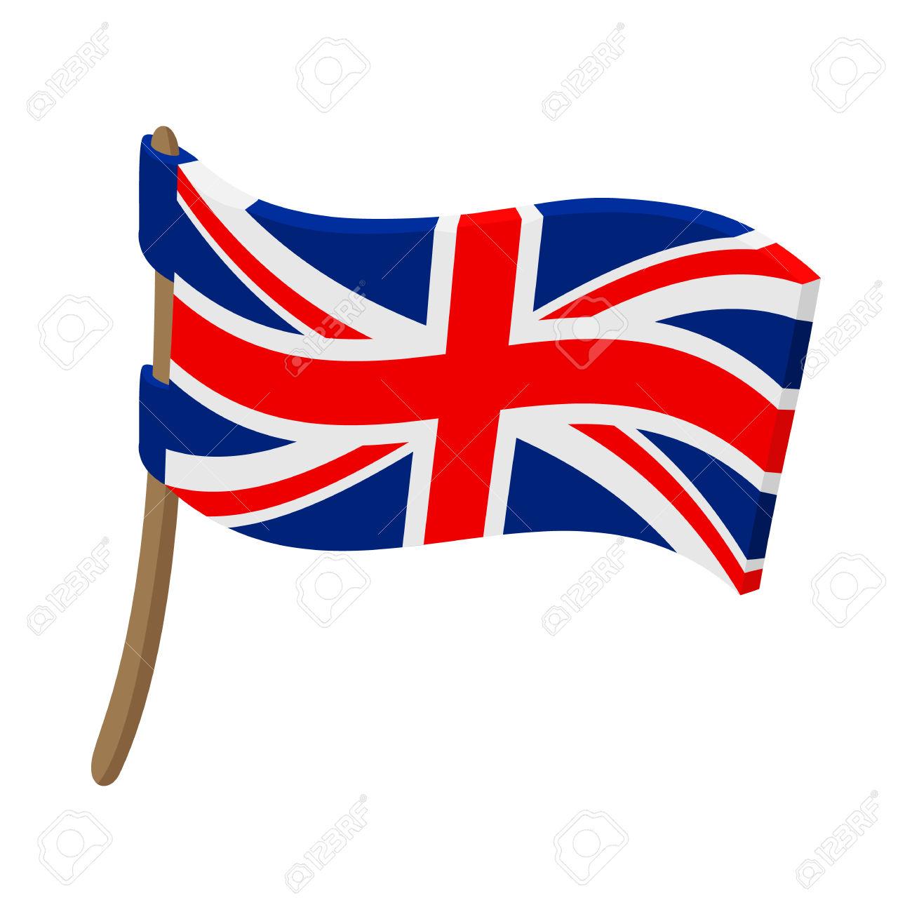 1300x1300 British Flag Clipart Cartoon