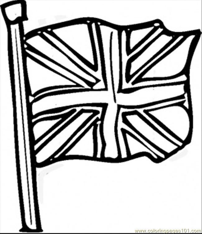 650x756 British Flag Clipart Current