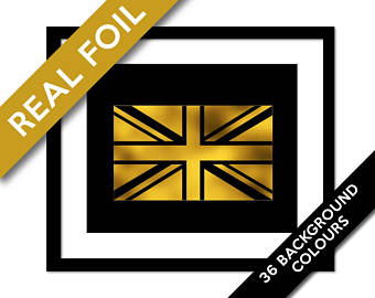 340x270 British Flag Art Etsy