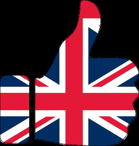 477x500 Thumbs Up Britain Public Domain Vectors
