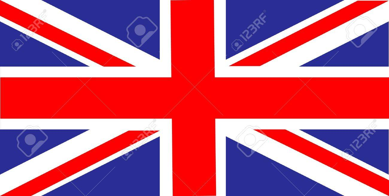 1300x657 United Kingdom Of Great Britain Flag Royalty Free Cliparts