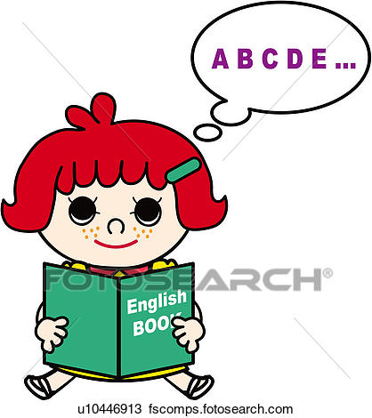 418x470 Clipart Of Holding, Schoolkid, Class, Reading, English, School