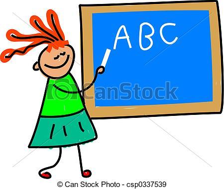 450x380 English Teacher Clipart