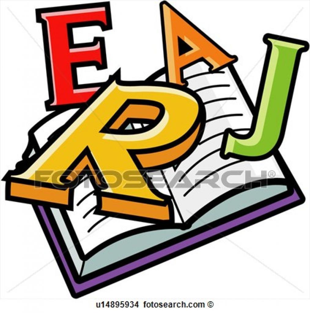 1014x1024 Clipart Of English English English Sentence Book Alphabet
