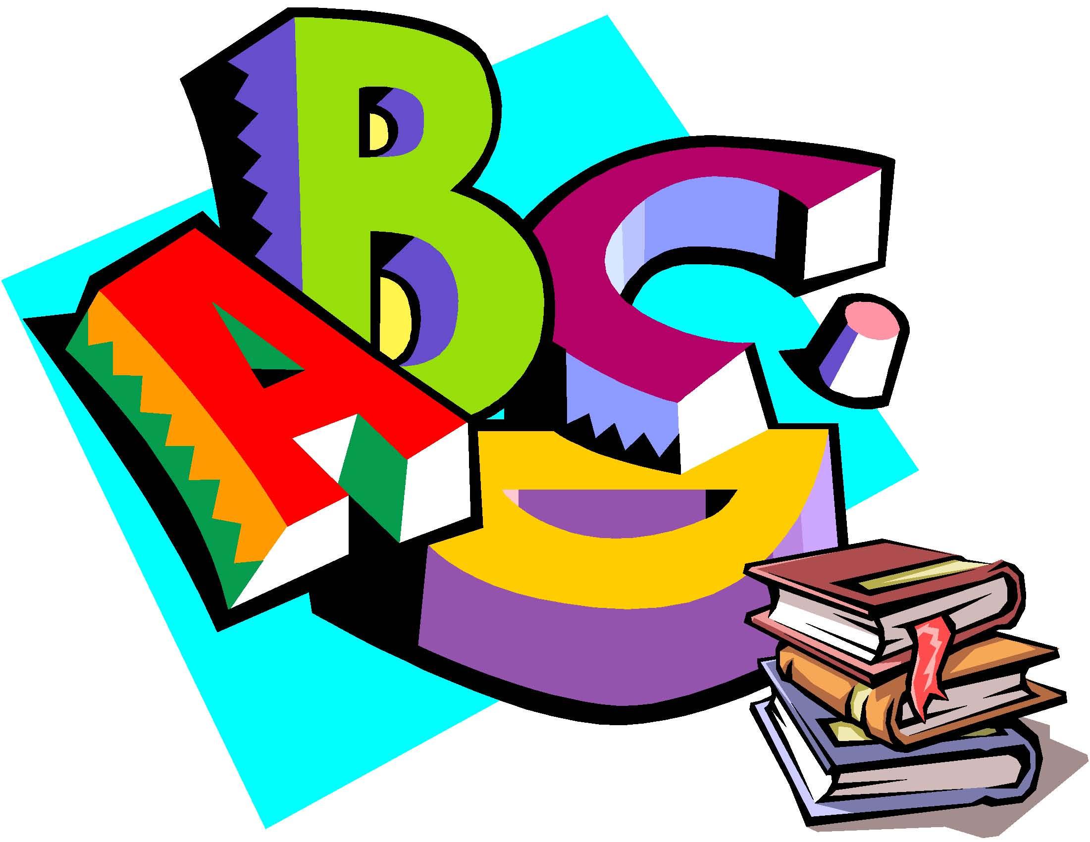2201x1701 Language Arts Clip Art