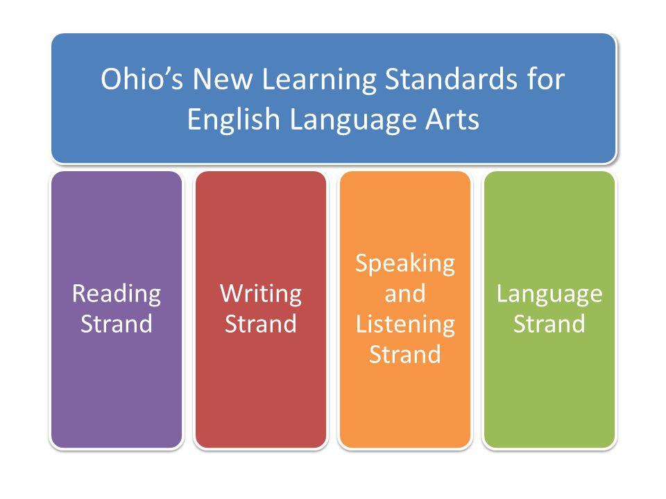 960x720 Ohio#39s New Learning Standards K 12 English Language Arts