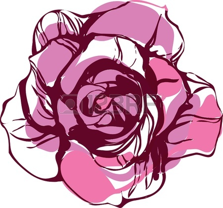 English Rose Clipart