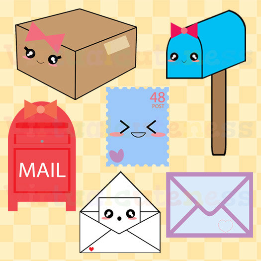 525x525 Mail Clipart