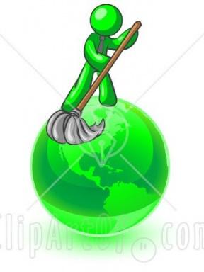 288x384 Clean School Environment Clipart