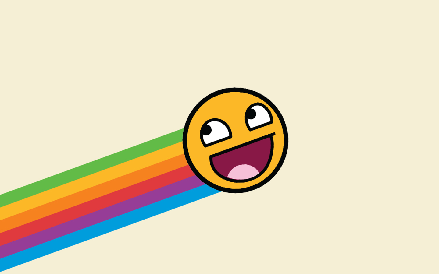 1440x900 Wallpapers For Rainbow Epic Face Wallpaper