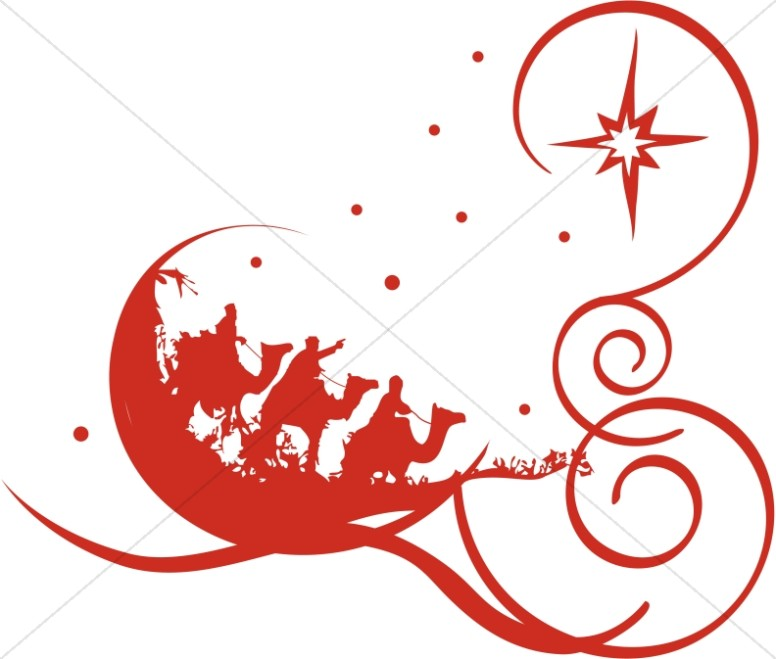 776x659 Decorative Red Epiphany Clipart Epiphany Clipart