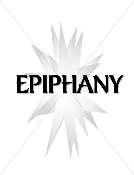 470x612 White Star And Epiphany Epiphany Clipart