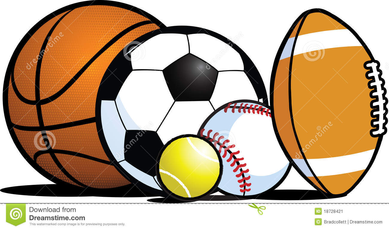 1300x769 Sports Equipment Clipart Panda