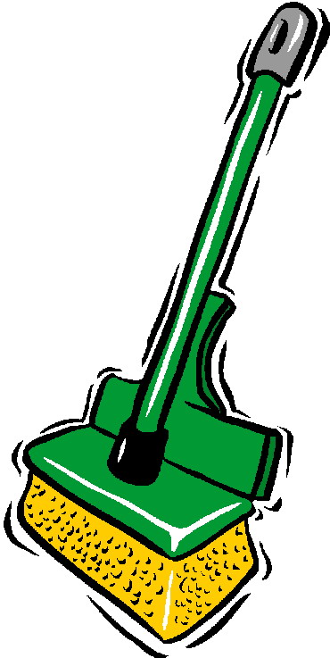 370x737 Cleaning Products Clipart