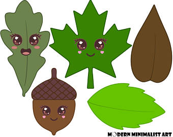 340x270 Leaf Clipart Digital Leaf Clip Art Leaves Clipart Green Leaf