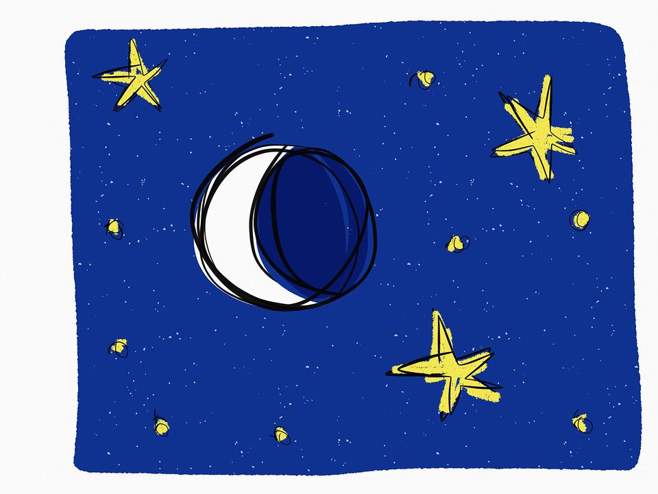 960x720 Lunar Clipart Evening