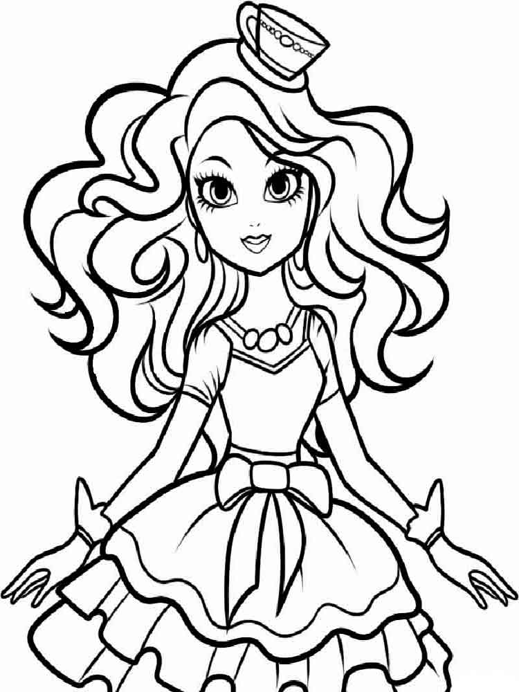 750x1000 Ever After High Coloring Pages. Download And Print Ever After High