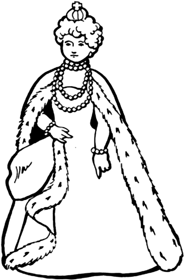 600x913 Queen Coloring Pages Download And Print For Free