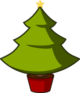 Evergreen Trees Clipart