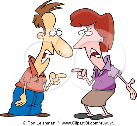 450x414 Couple Clipart Argument