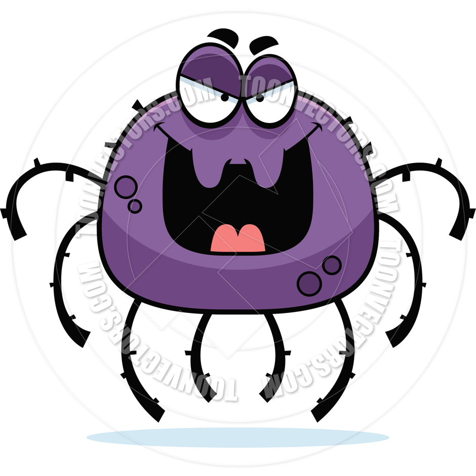 940x940 Evil Spider Clipart