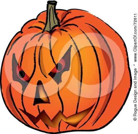Evil Pumpkin Clipart