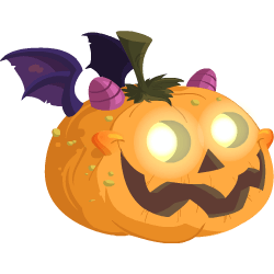 250x250 Evil Pumpkin Dragon
