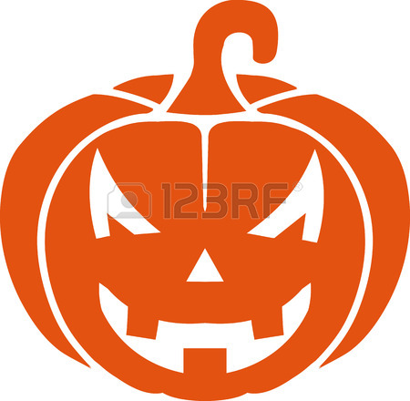 450x440 Halloween Pumpkin Face Royalty Free Cliparts, Vectors, And Stock
