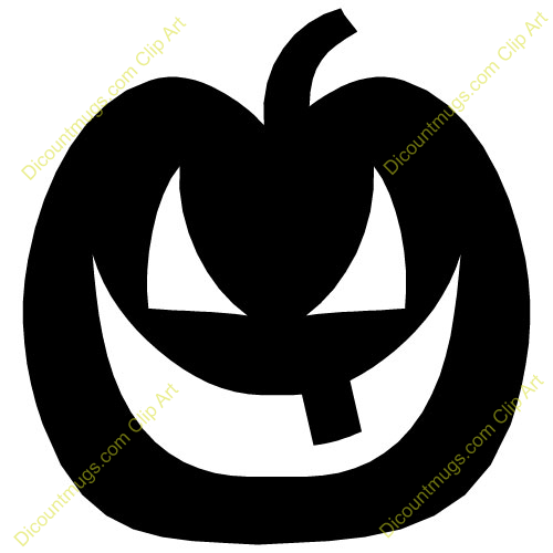 500x500 Horror Clipart Pumpkin