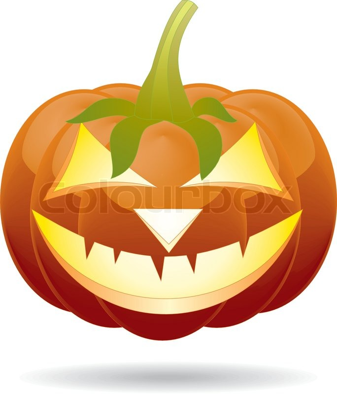 684x800 Scary Jack O Lantern Halloween Pumpkin With Candle Light Inside