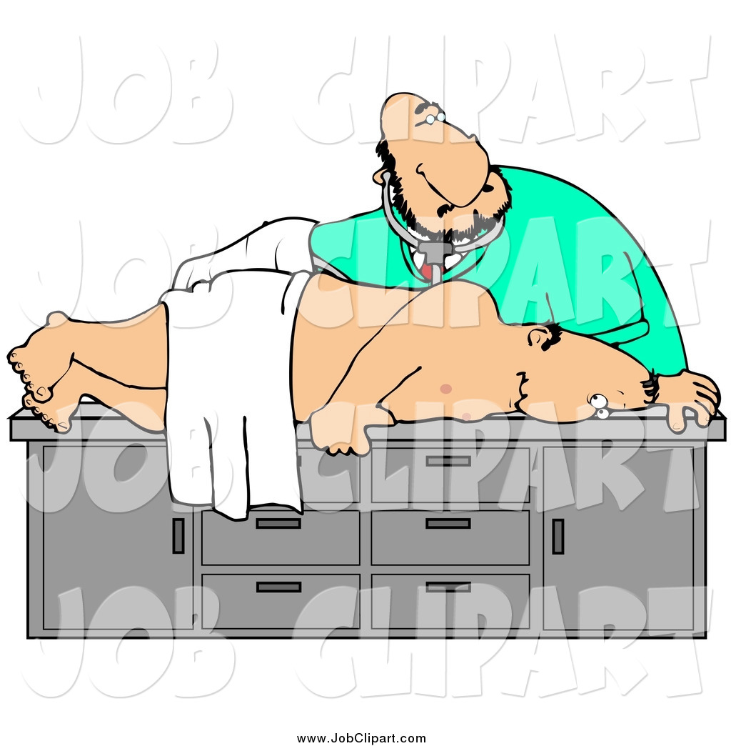 1024x1044 Job Cliprt Of White Male Doctor Giving Middleged Man
