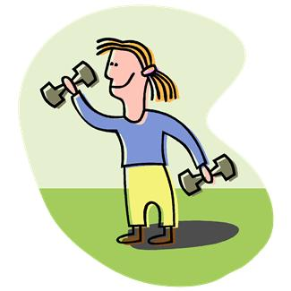325x325 Work Out Clip Art