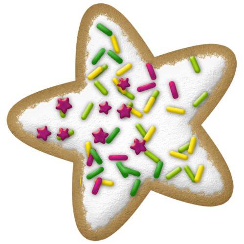 499x500 Clipart Cookie Holiday