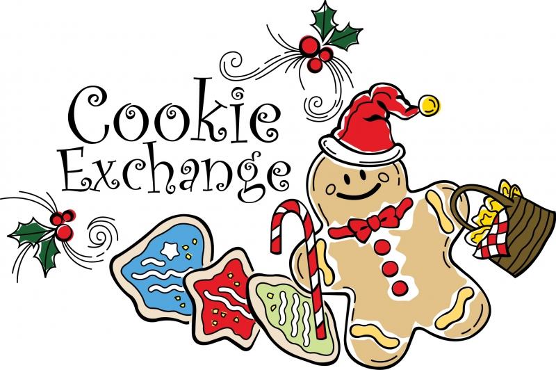 800x532 Gingerbread Clipart Cookie Exchange