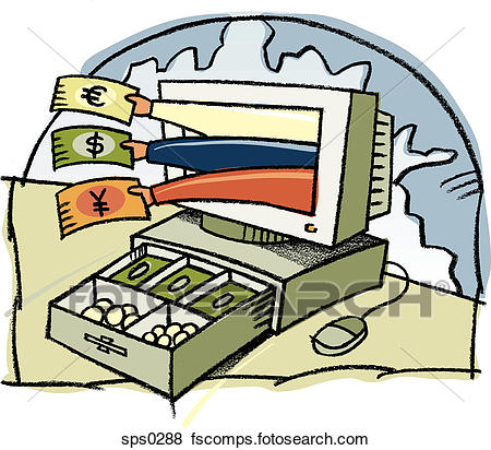 450x412 Stock Illustration Of A Graphic Representation Of Foreign Exchange