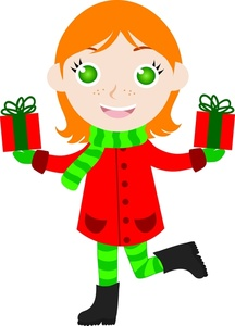 216x300 Free Christmas Clipart Image