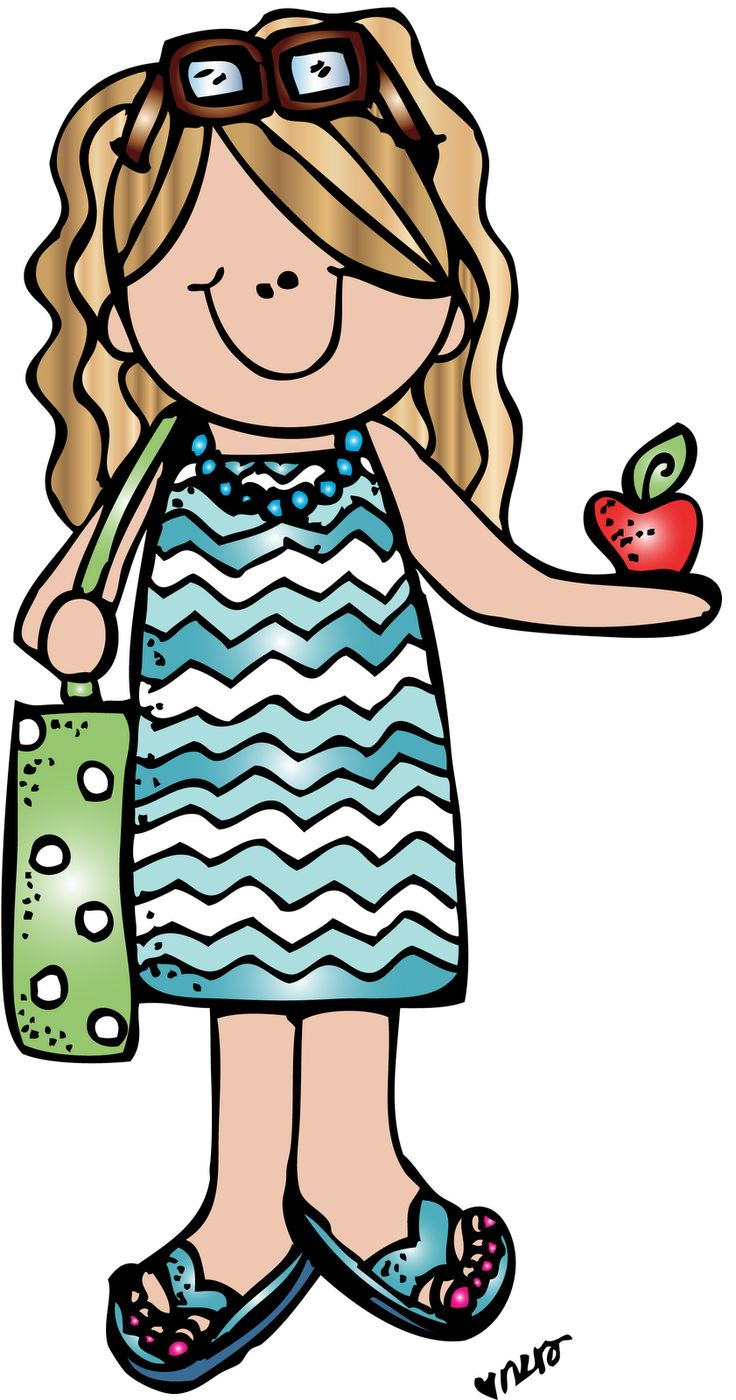 736x1400 Blonde clipart excited teacher