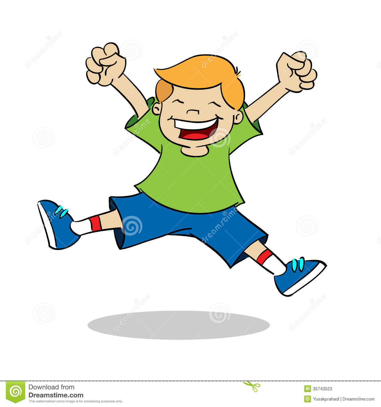 1300x1390 Excited Child Clipart